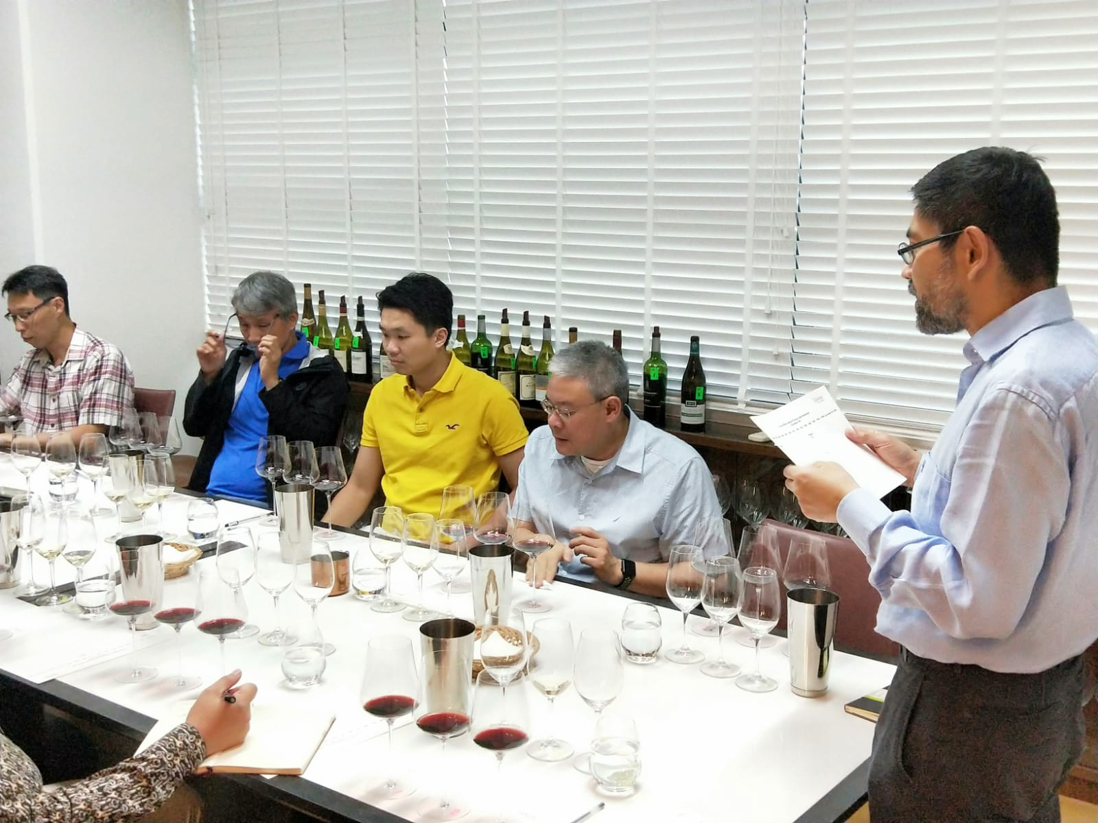 Wine appreciation class singapore: Private Tutored Wine Tasting