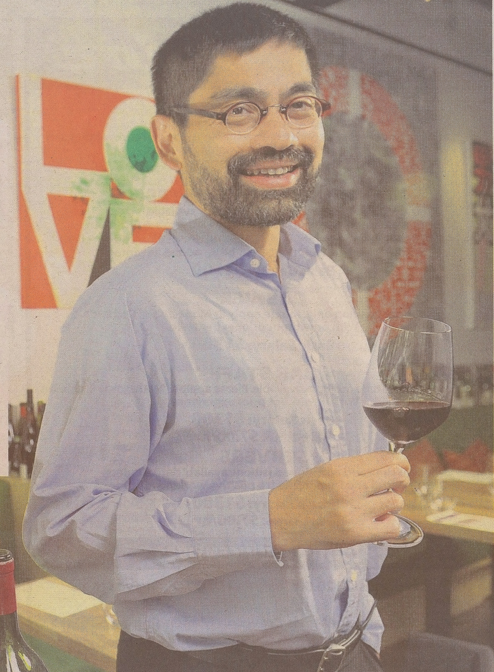 The Wine Educator with a nose for wine – The New Paper